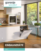 Katalog Hausgeräte Outlet Produkte, Einbaugeräte von Gorenje